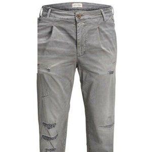 Jack & Jones Mens Ace Milton Cropped JOS 420 Pants